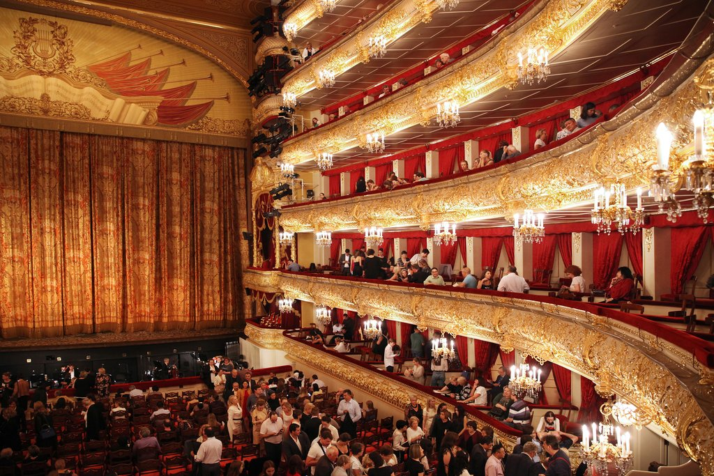 The Interior of the Bolshoi Theater