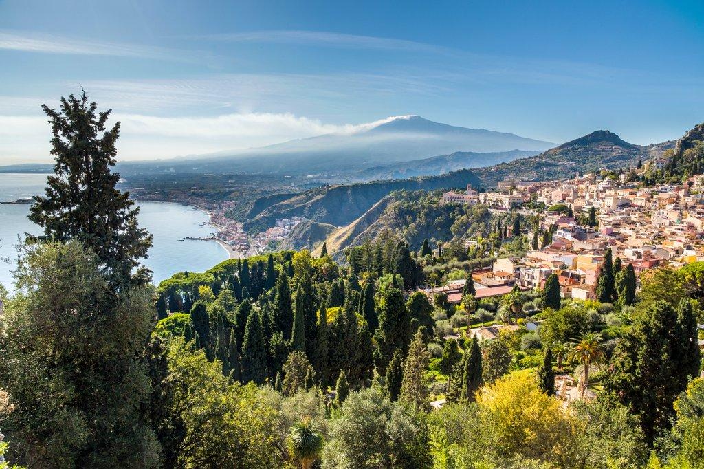 Etna Volcano from Taormina