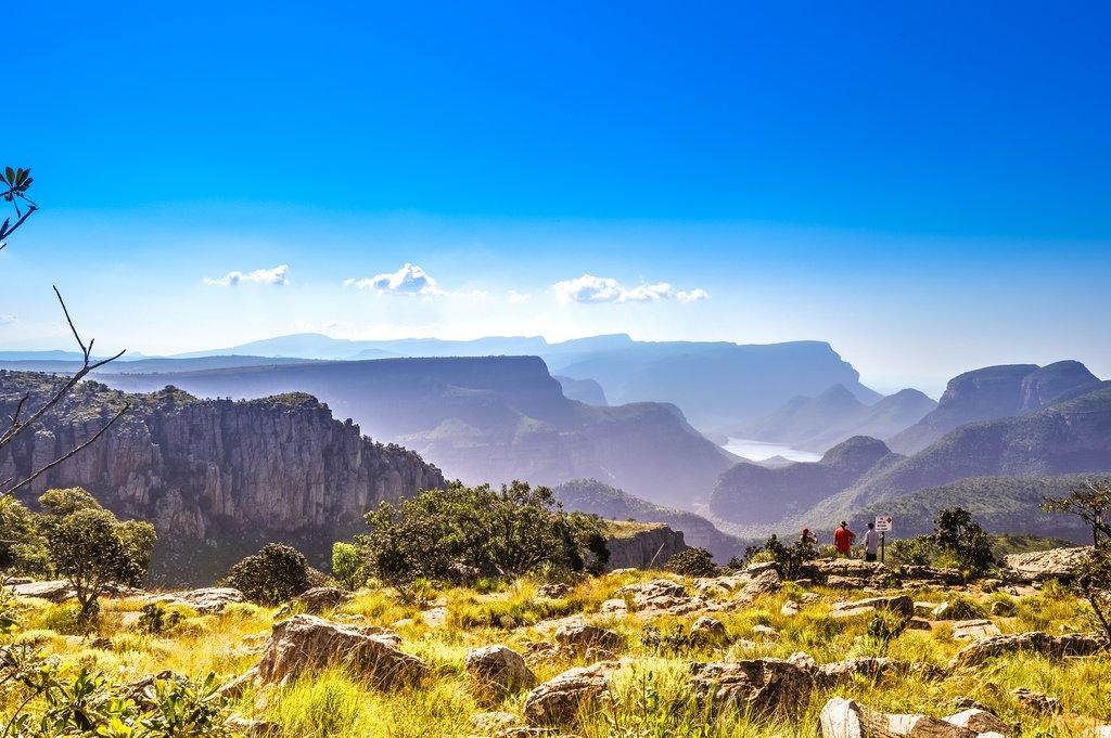Blyde River Canyon near Three Rondavels