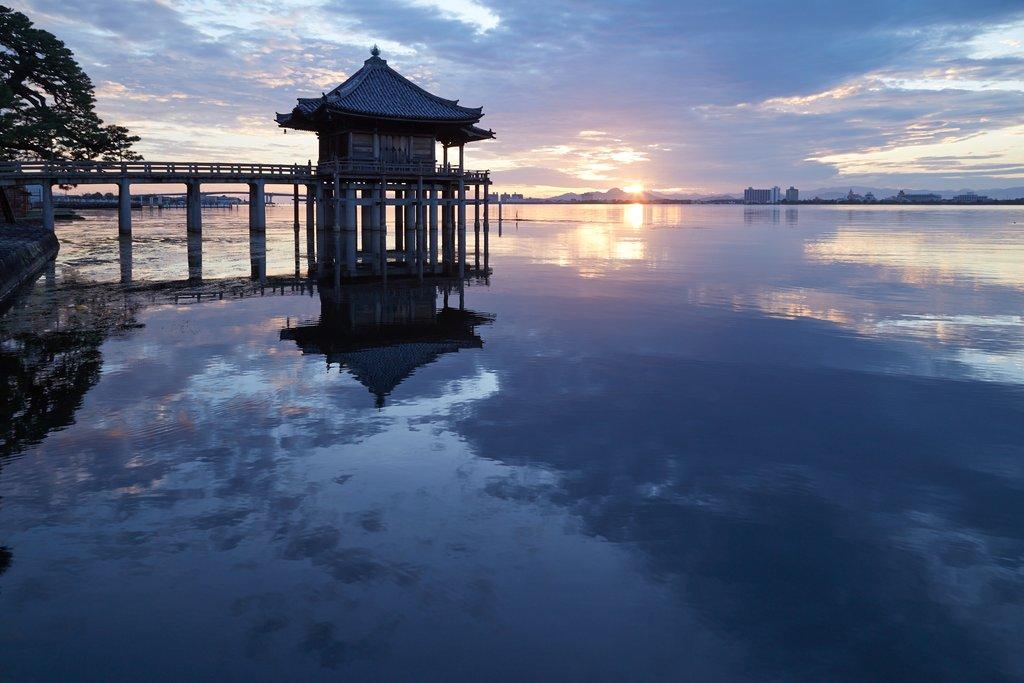 Ukimido, Lake Biwa