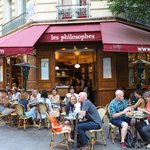 Plenty of cafes to choose from in Le Marais