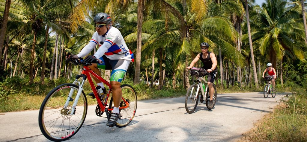 Cycling in Koh Phangan
