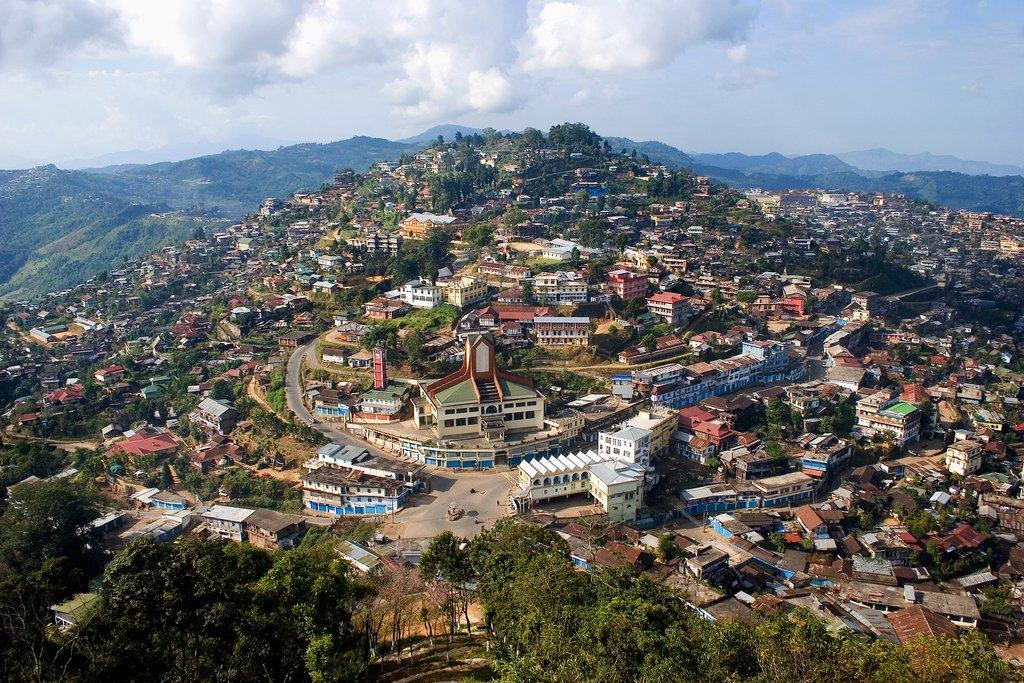 Kohima town