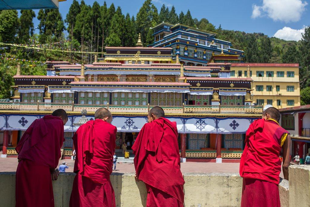 A monastery in Gangtok