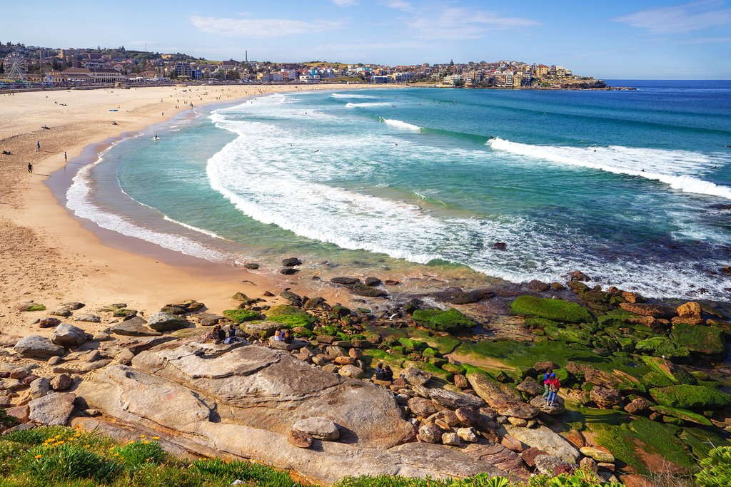 Bondi Beach is famous worldwide