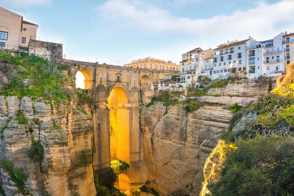 Ronda's stunning Tajo Gorge