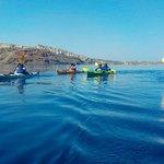 Photo from Santorini Sea Kayak