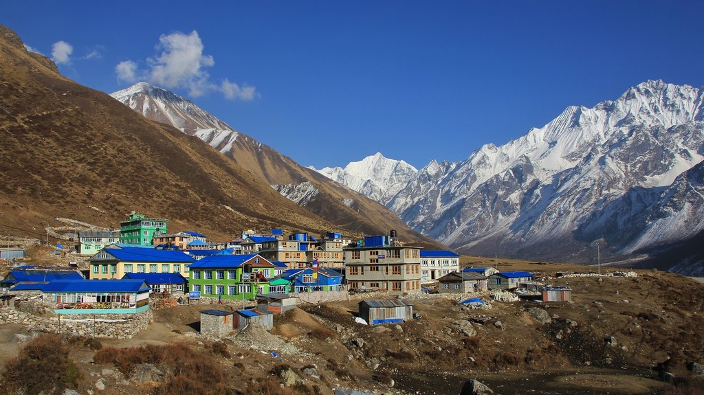 In the Langtang Valley