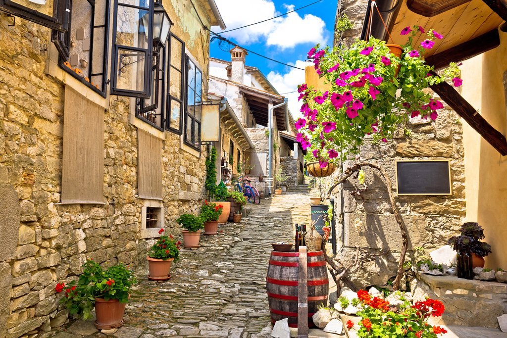 Streets of Hum in Croatia