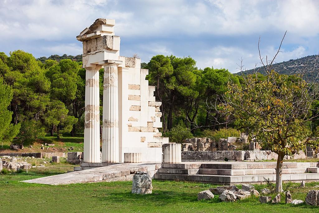 Among the Columns of Epidaurus