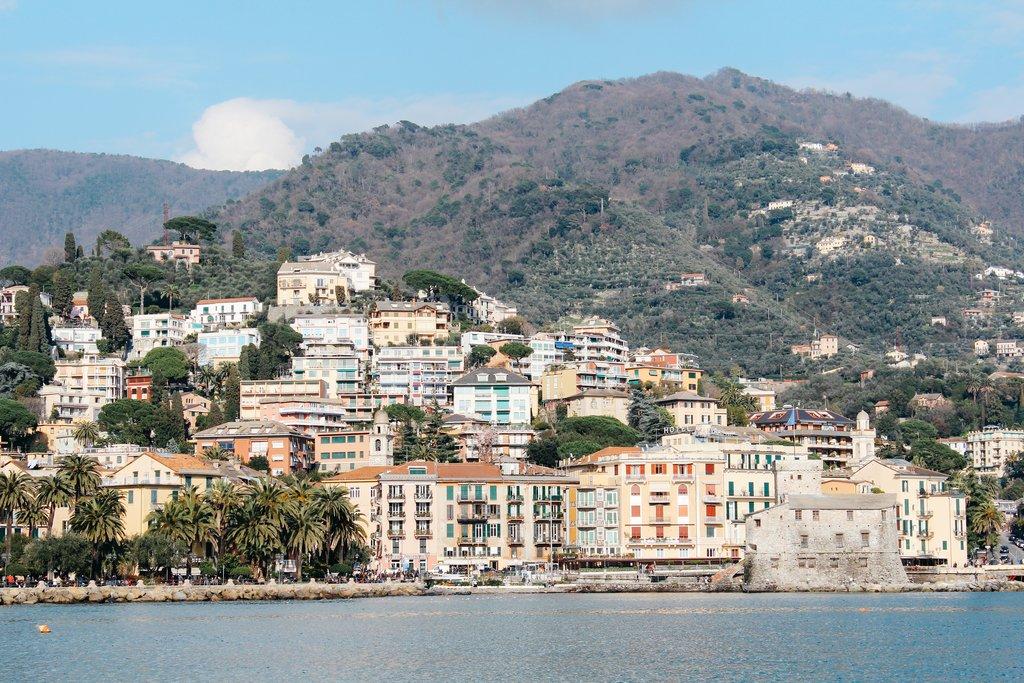 Small coastal village of Rapallo