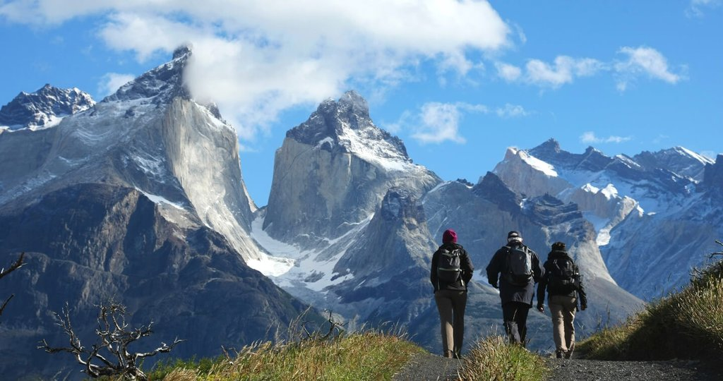 On the move in Torres del Paine
