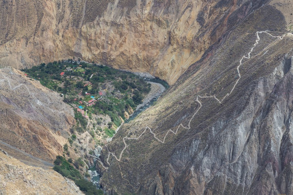 Sangalle Oasis in Colca Canyon