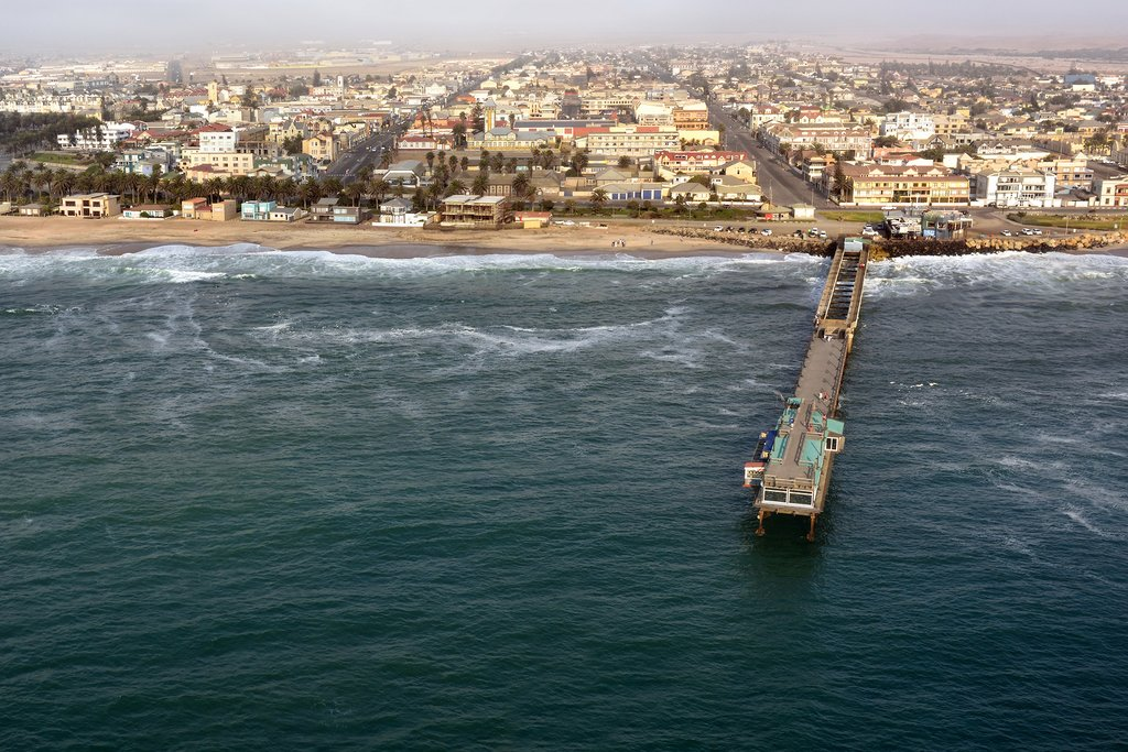 Atlantic Coast of Swakopmund