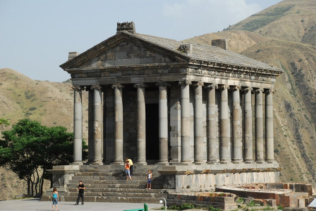 The Hellenistic temple of Garni