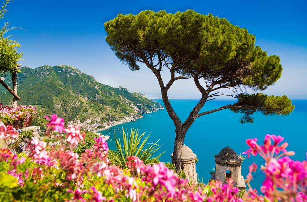 The Hills and Sea Views of Ravello