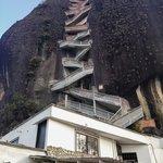 It's 740 steps to the top of El Peñol