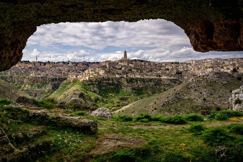 Scenic Views of Matera