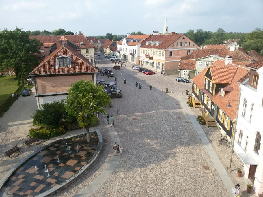 The Historic Old Town of Kuldīga