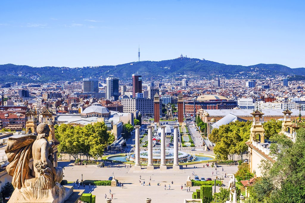 Barcelona and the Magic Fountain of Montjuic