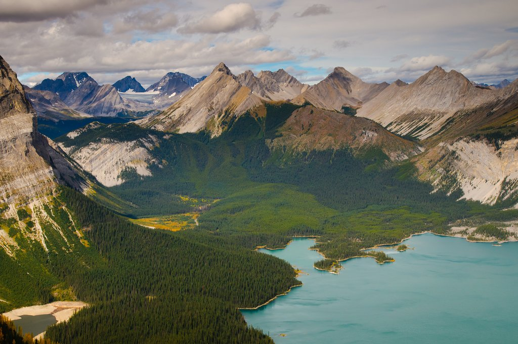 Rawson and Kananaskis Lakes