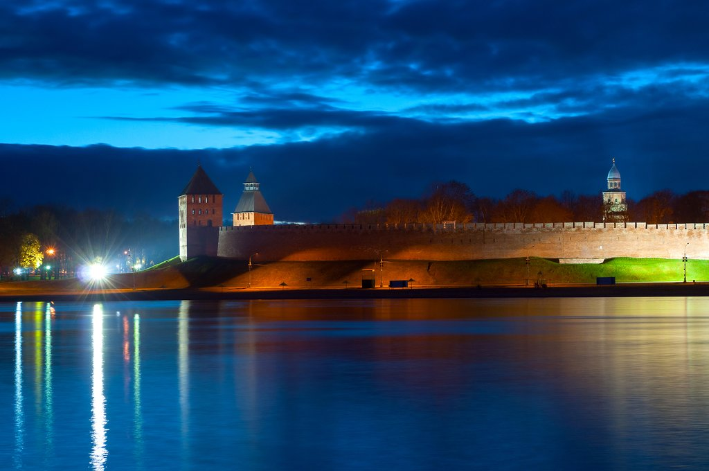 View of Novgorod from the river