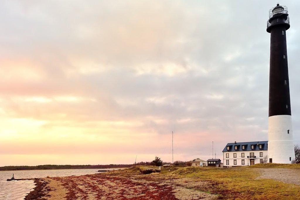 Sunset on Sõrve Peninsula
