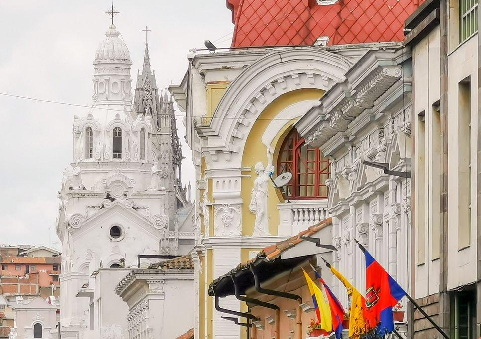 Quito, the Ecuadorian capital