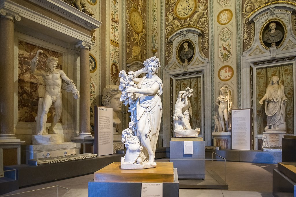 Exhibition of Bernini sculptures