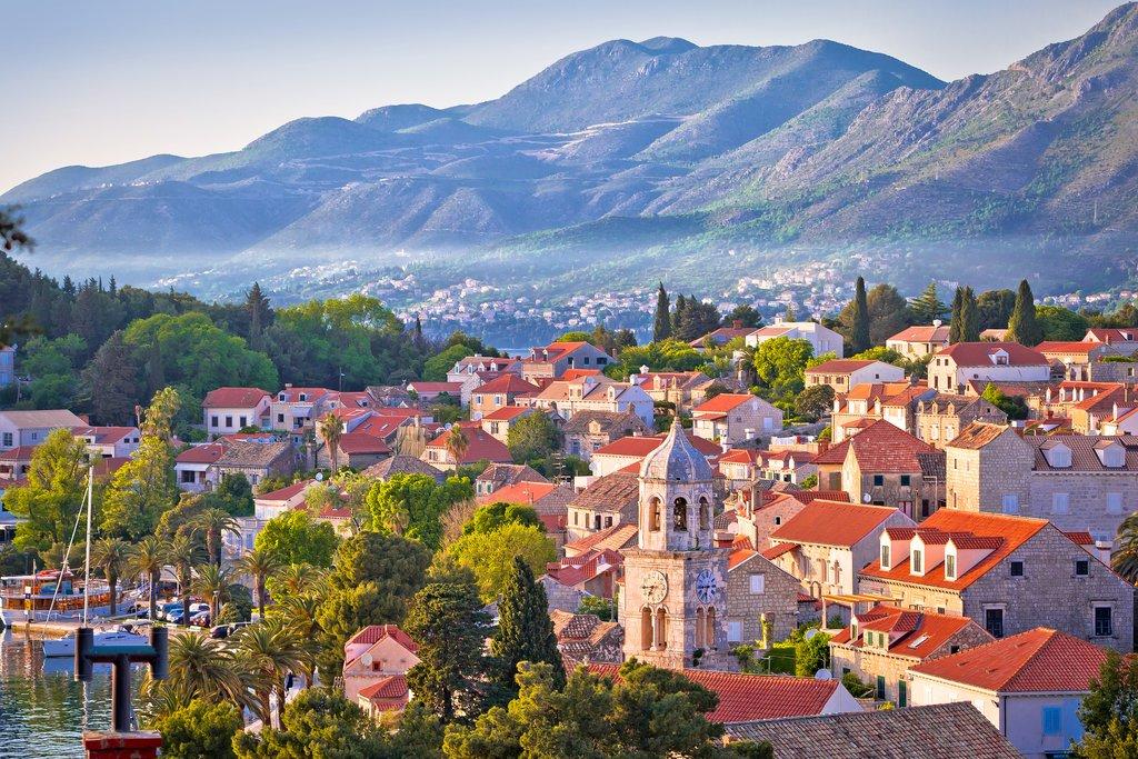 Croatia, Town of Cavtat in the Konavle region