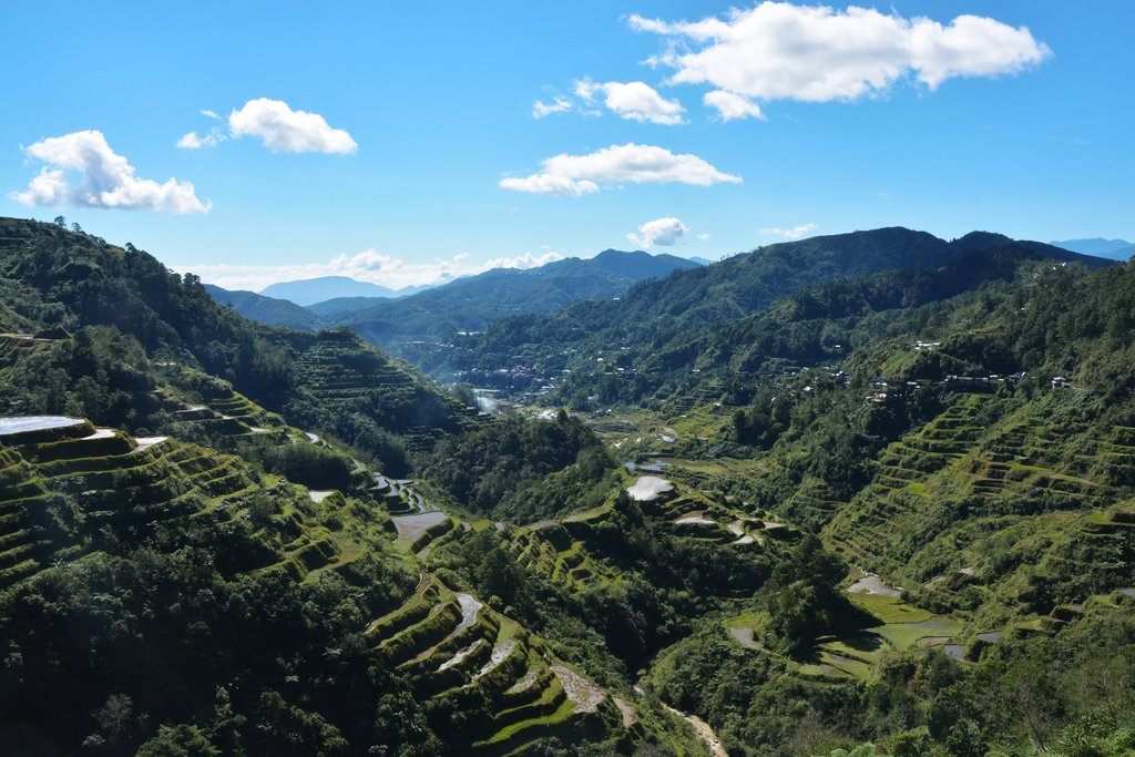 Ifugao mountain valley philippines