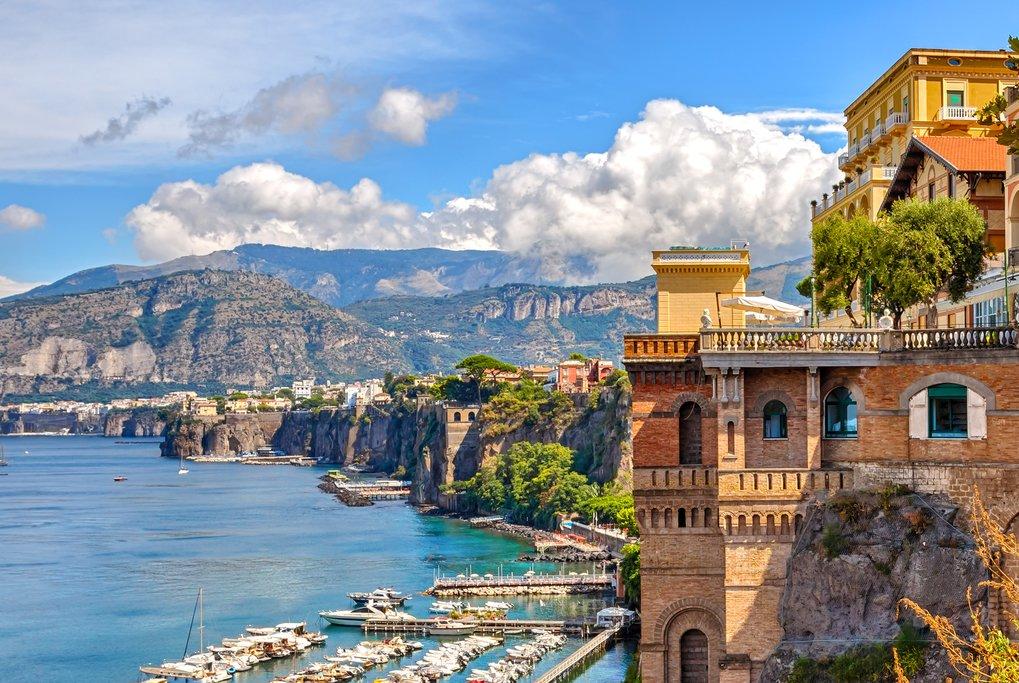 The Beautiful Amalfi Coastline