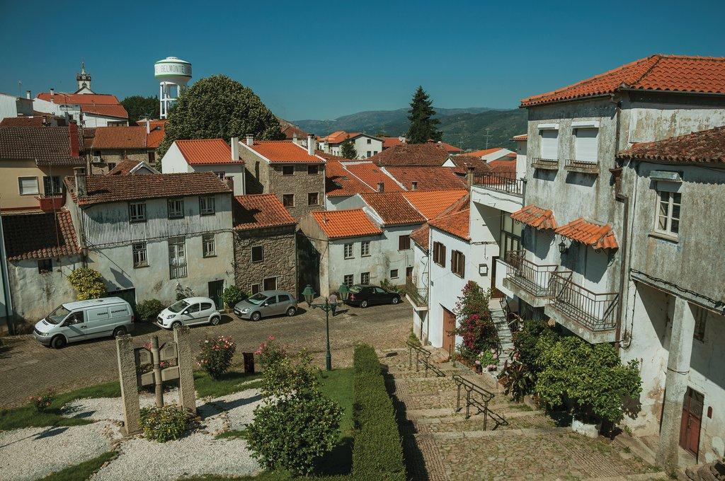 Historic Square in Belmonte