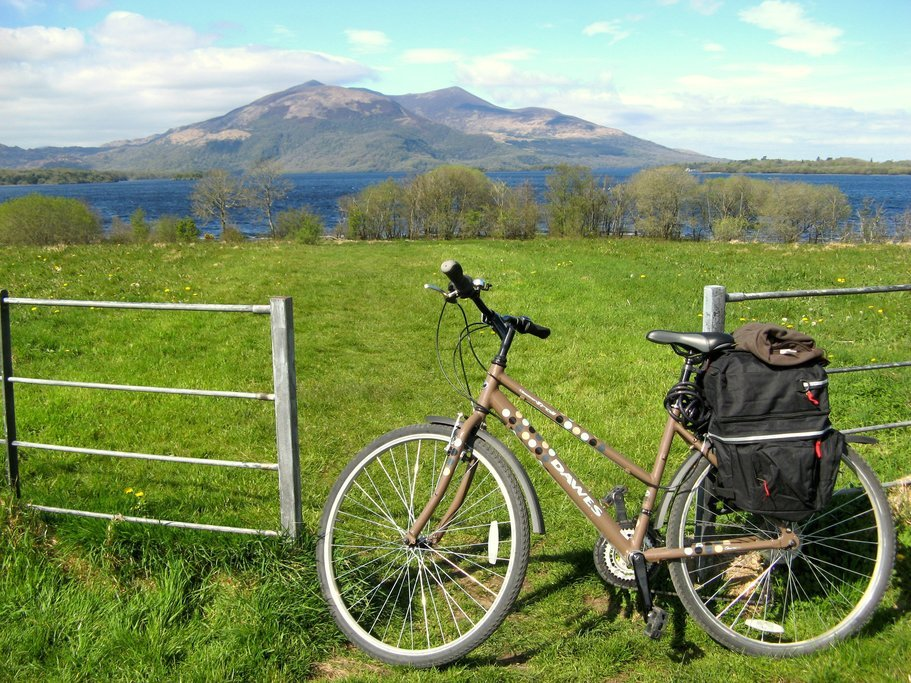 Leave your bike behind and say goodbye to Ireland