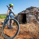 Cyclist explore plains around Stari Grad