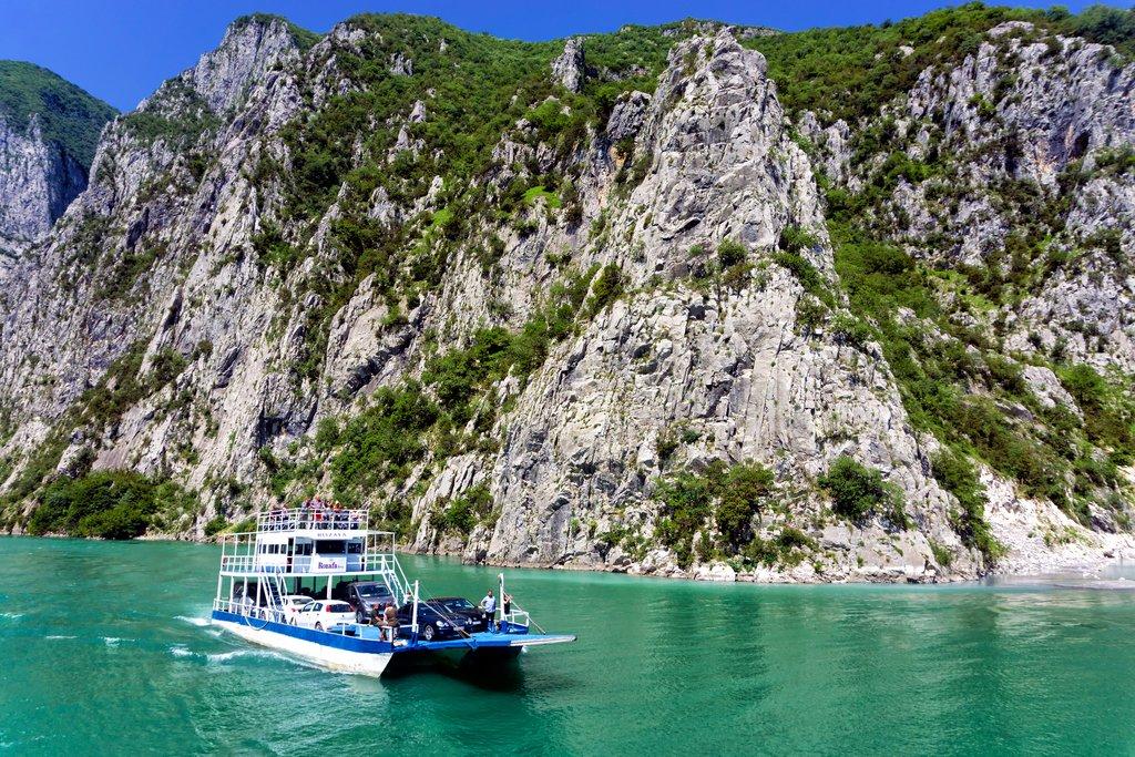 The Lake Komani Ferry