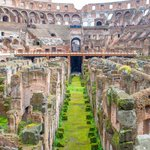 Head into the bowels of the Colosseum