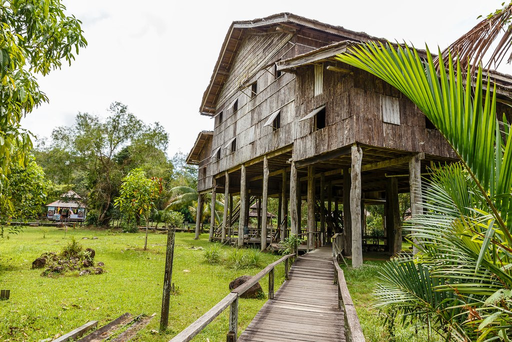 Melanau Tall House