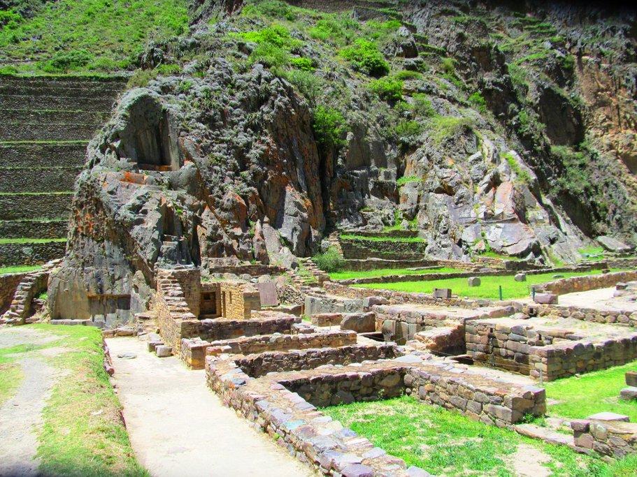 Detail of the Ollantaytambo fortress