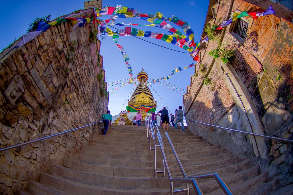Swayambhunath (Monkey) Temple
