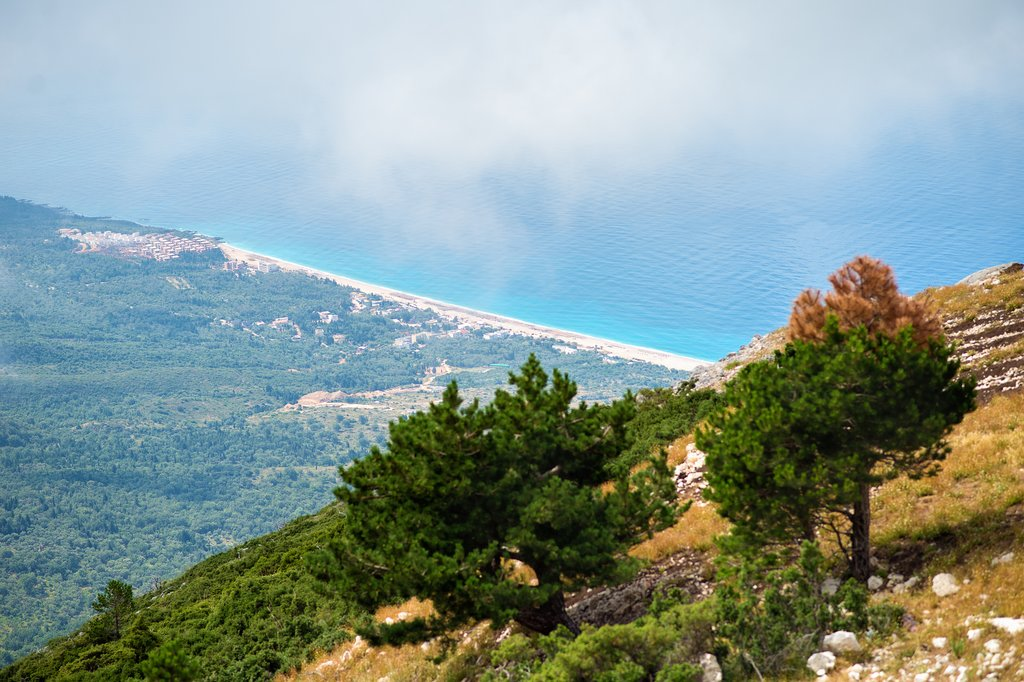 Ionian Sea from Llogora National Park