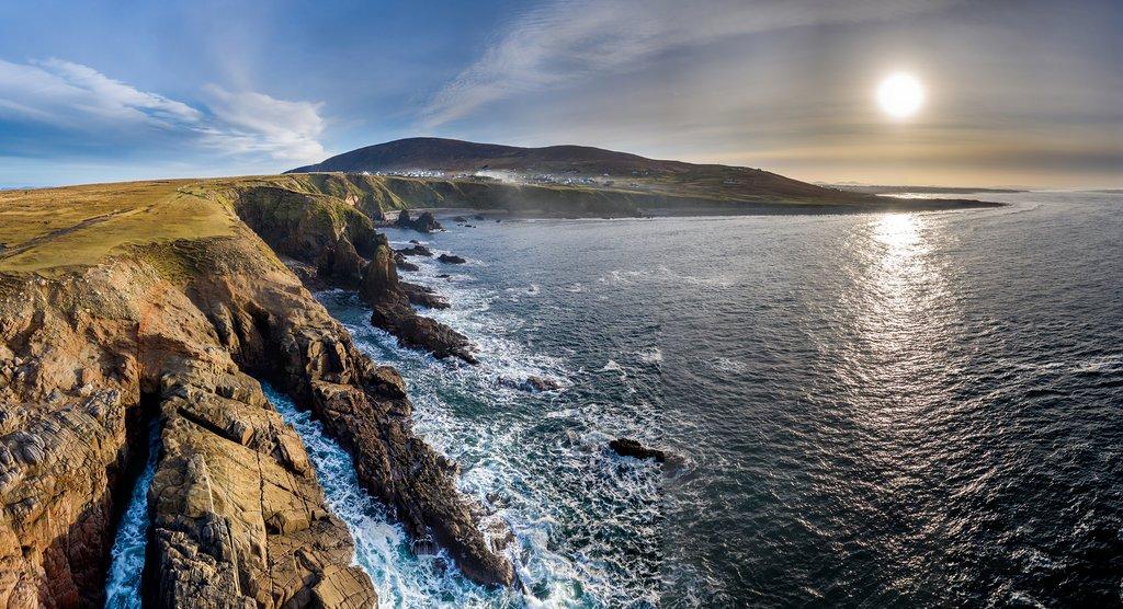 Sunset off the Coast of Ireland