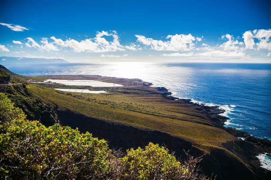The northern coast of Tenerife, near Buenavista del Norte.