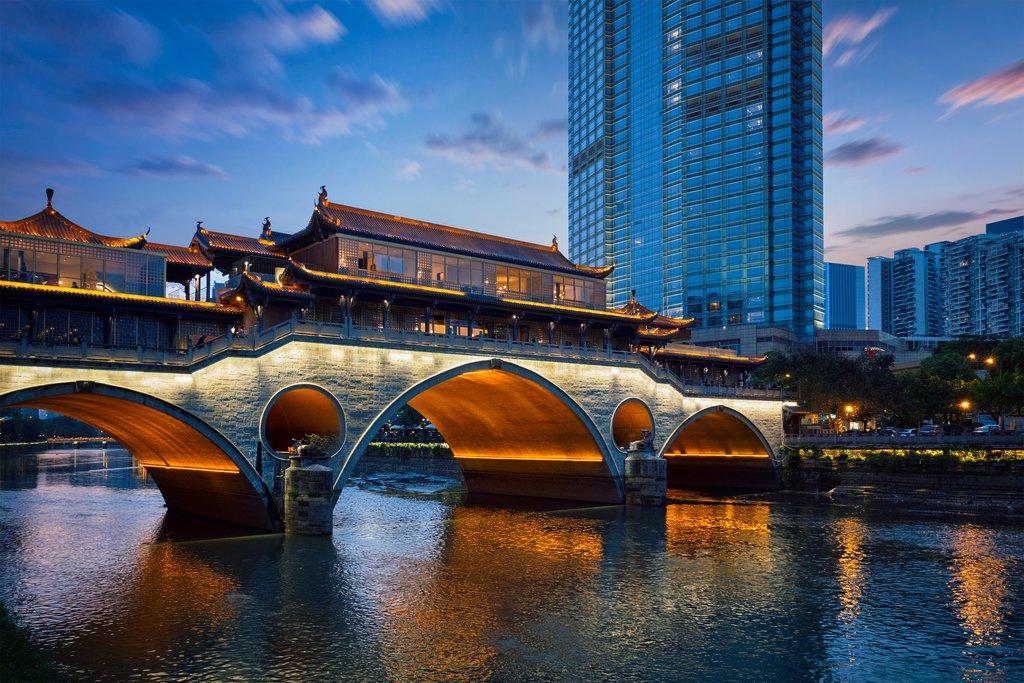 Anshun Bridge over the Jin River