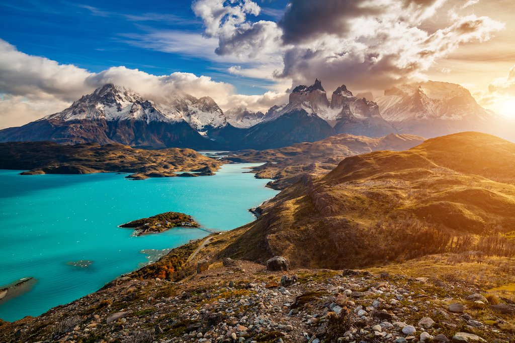 Majestic landscapes at Torres del Paine
