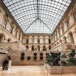 Interior of Le Louvre