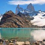 Magnificent mountain views from Laguna de los Tres