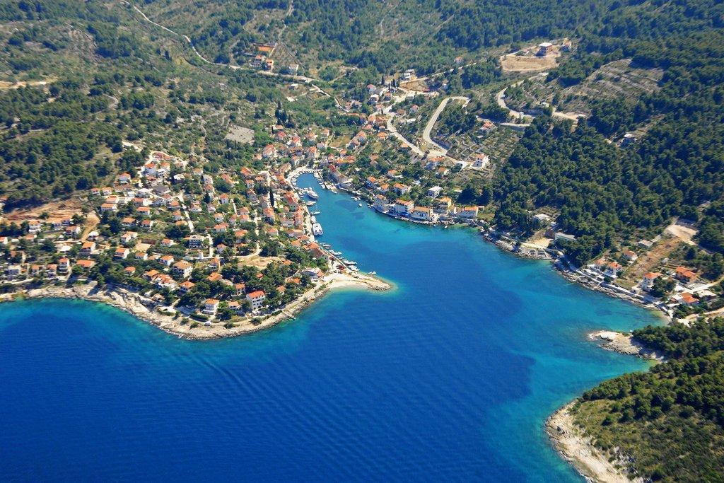 The Coastline of Šolta Island, Croatia