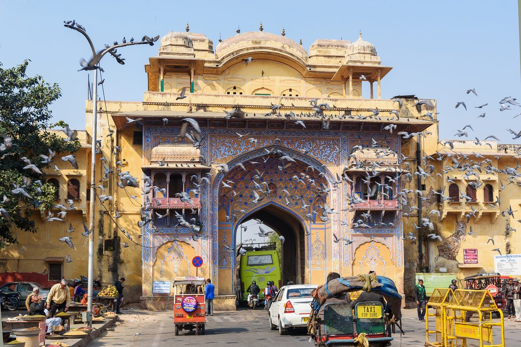 Today we make our way to the capital of Rajasthan, Jaipur