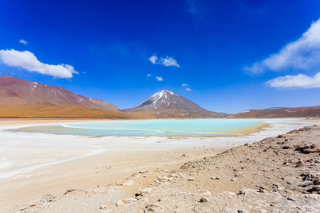 Bolivia's Green Lagoon